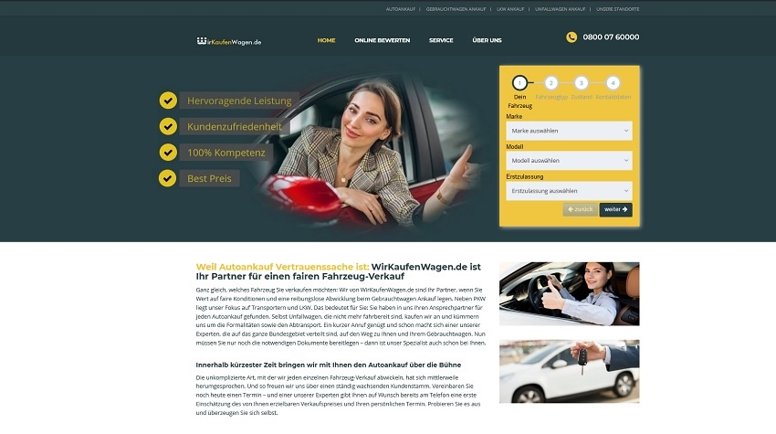 Wir kaufen Wagen in Krefeld - Autoankauf Krefeld
